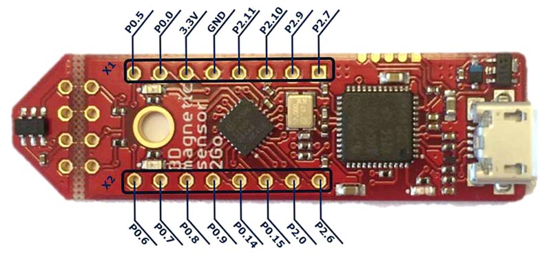 3D Magnetic Sensor 2 Go Kit with TLV493D-A1B6