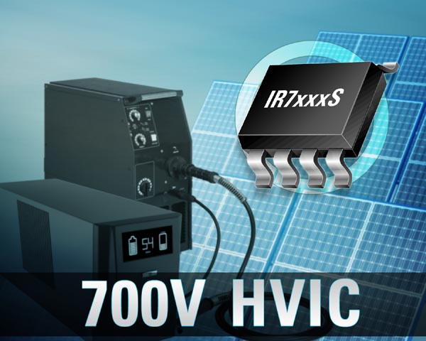 Infineon's Rugged Reliable IR71xxS Series of 700 V HVICs Increases System Reliability and Shrinks Board Space
