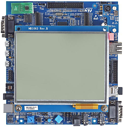 STM32756G-EVAL Evaluation board with STM32F756NG MCU