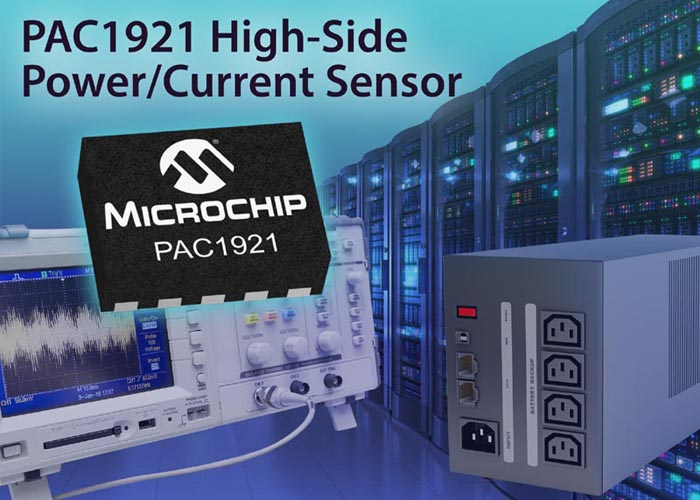 High-Side Current/Power Sensor From Microchip is World's First to Feature Both a Configurable Analog Output and a 2-Wire Digital Bus