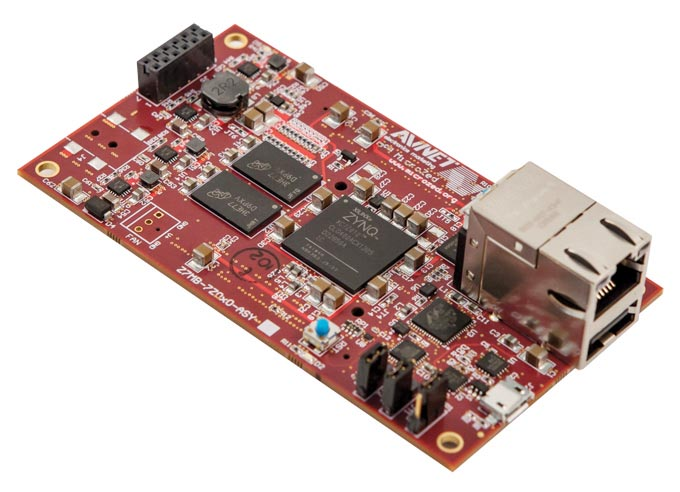 Платформа макетирования MicroZed объединяется с Arduino