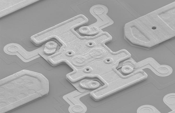 DelfMEMS FreeFlex RF-MEMS switch