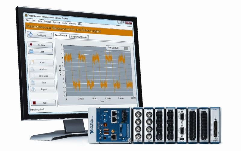 NI помогает инженерам решать задачи анализа большого объма данных с новыми контроллерами CompactDAQ и программным обеспечением DIAdem 2015