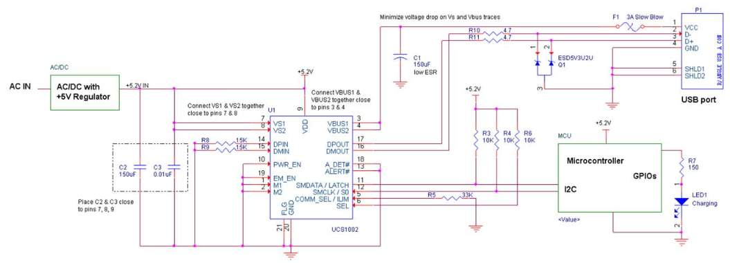 Smart Charger Schematic