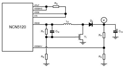 DC2 Schematic for Driving Relays