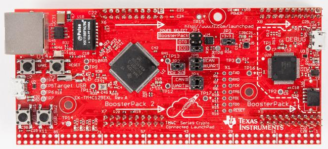 Texas Instruments LaunchPad evaluation kit EK-TM4C129EXL
