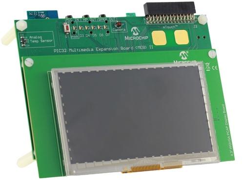 Microchip Multimedia Expansion Board II (DM320005-2)