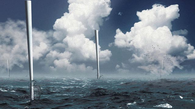 A Wind Turbine Without Blades