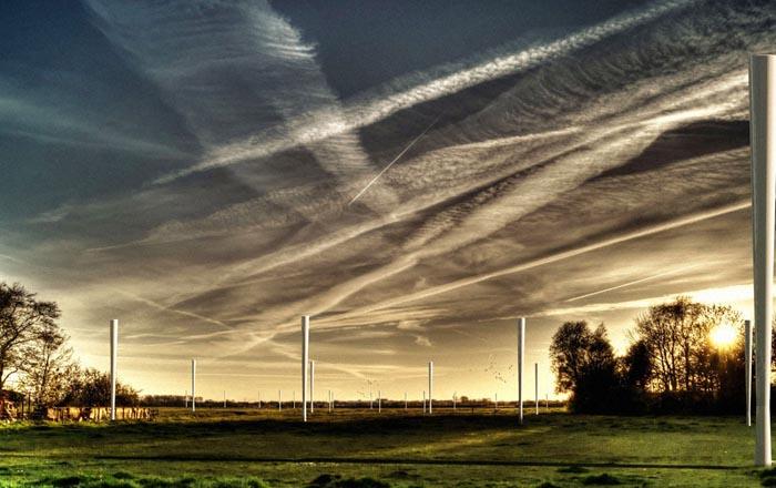 Ветряная турбина без лопастей