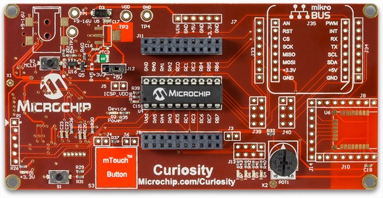 Microchip Curiosity Development Board (DM164137)