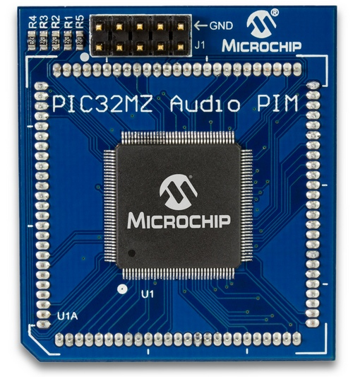 Microchip PIC32MZ EF Audio 144-pin PIM for Bluetooth Audio Development Kit (MA320018)
