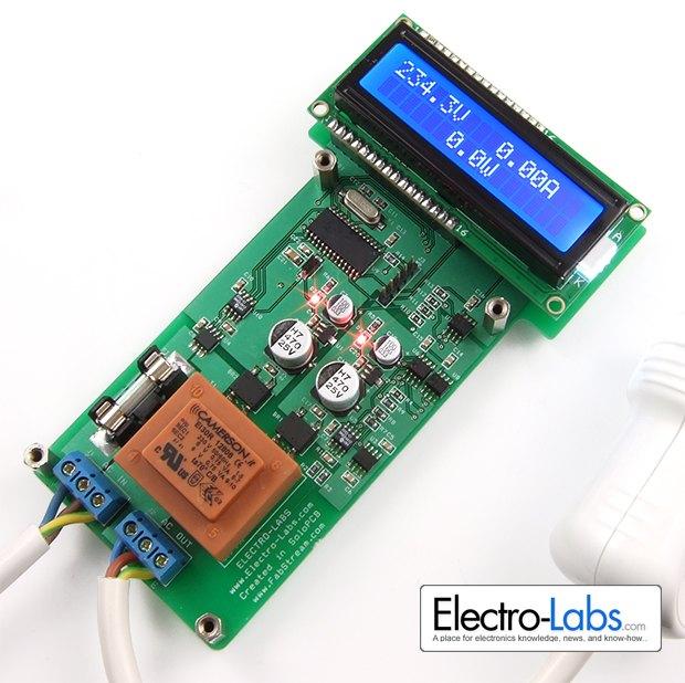 Arduino 220V AC wattmeter MySensors Forum