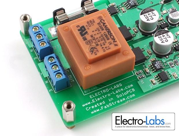 DIY Digital AC Watt Meter Input Analog Side
