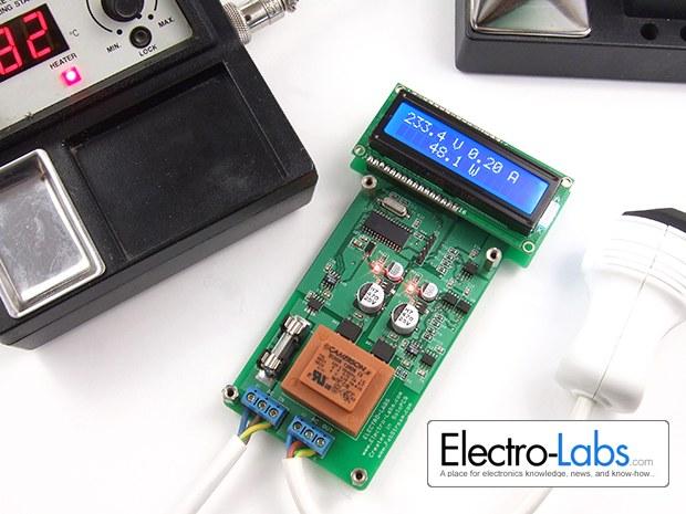 Цифровой ваттметр переменного тока
