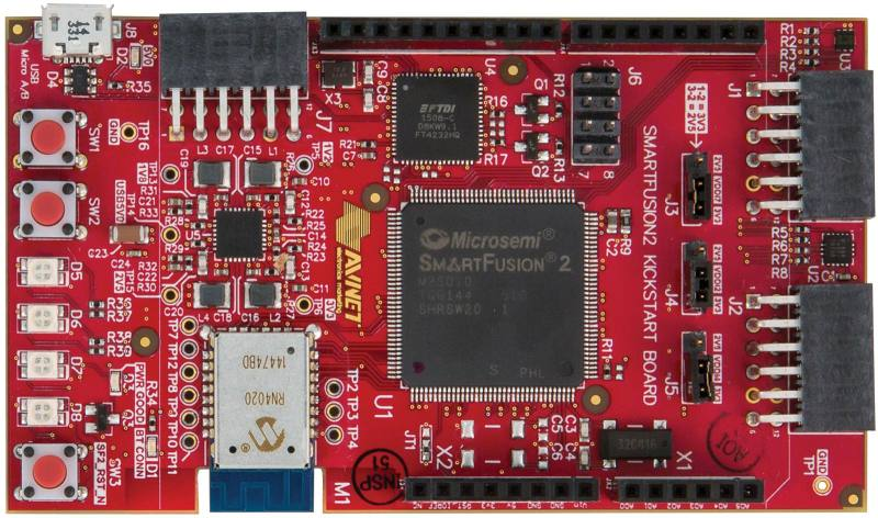 Avnet Offers New SmartFusion2 KickStart Development Kit for Applications Requiring Highest Levels of Design and Data Security