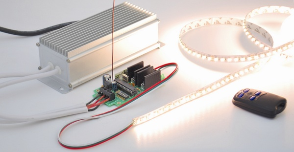 The perfect Remote, Programmable, Controller for interactive LED strips. Part 1 - Specification and Schematic