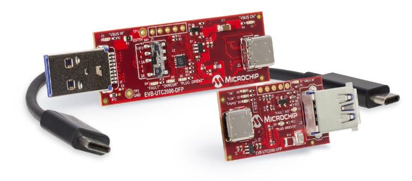 Оценочная плата EVK-UTC2000 для контроллера USB-C