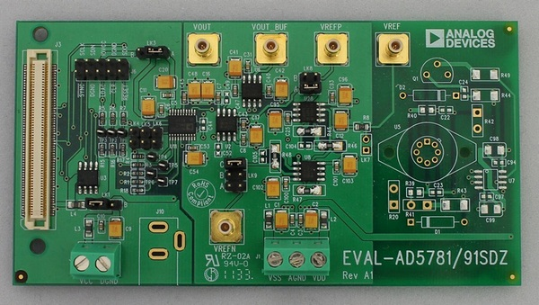 Evaluation Board Analog Devices EVAL-AD5791