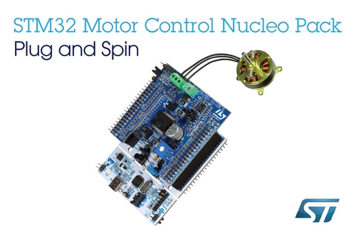 STMicroelectronics' STM32 Motor-Control Nucleo Pack