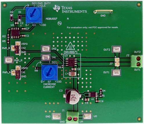 Оценочный модуль DRV8870EVM