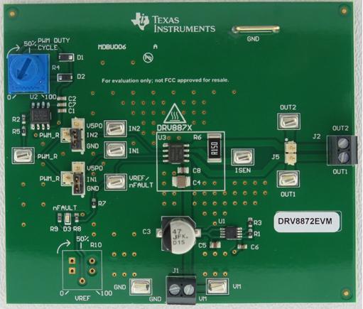 Оценочный модуль Texas Instruments DRV8872EVM