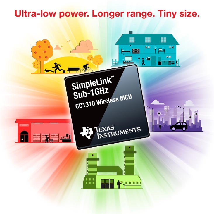 The most distance with less power - TI's new Sub-1 GHz solution spans 20 km on a coin cell