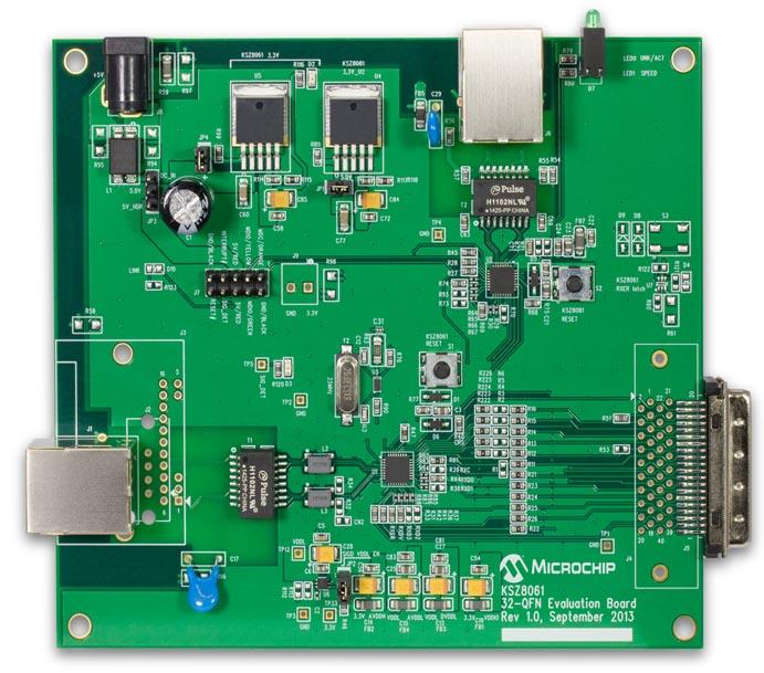 Оценочная плата KSZ8061MNX
