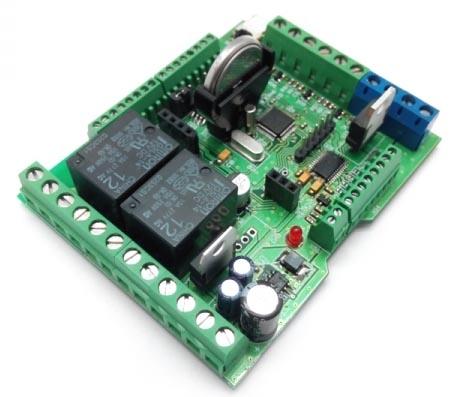 MP8036multi: пример работы термостатом