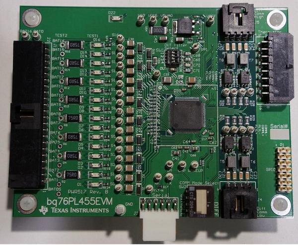 Evaluation Module Texas Instruments BQ76PL455EVM