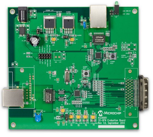 Evaluation Board Microchip KSZ8061MNX-EVAL