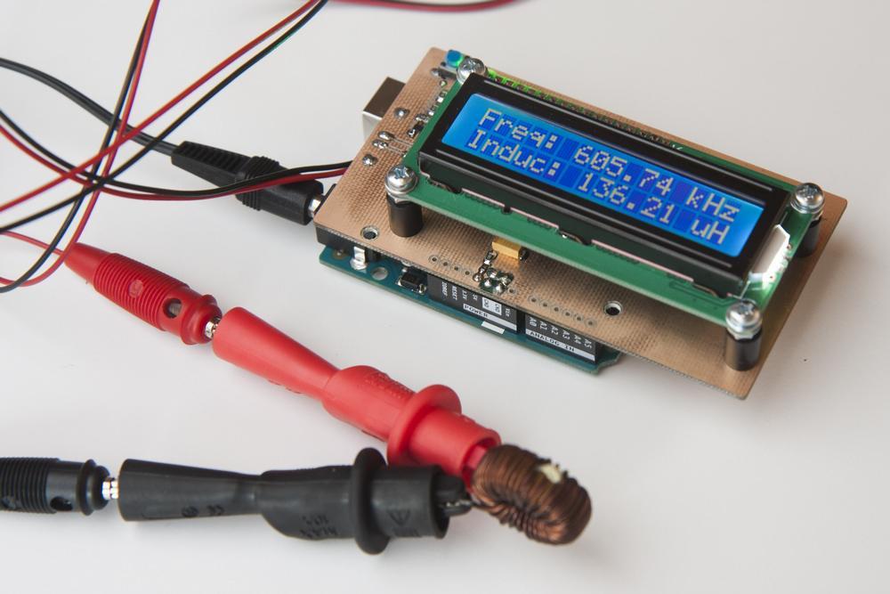 Измеритель индуктивности на Arduino