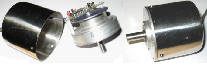 Rotational (or linear) measurement using an optical mouse sensor
