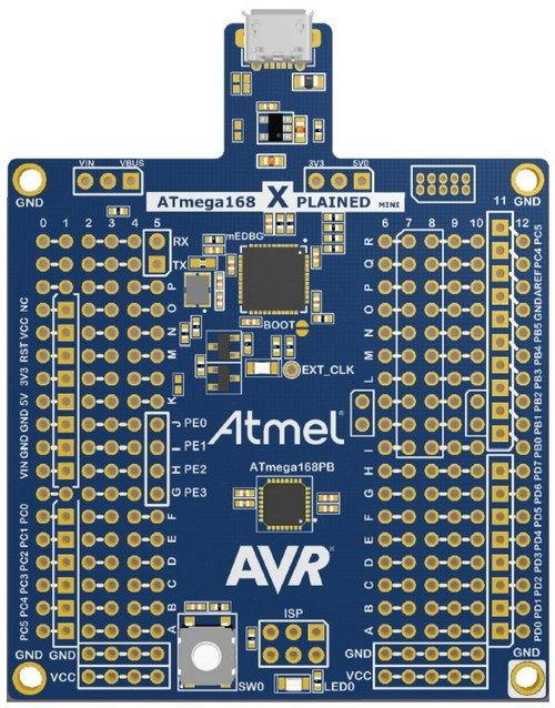 Evaluation Kit Atmel ATMEGA168PB-XMINI