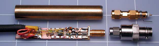 High-impedance FET probe extends RF-spectrum analyzer's