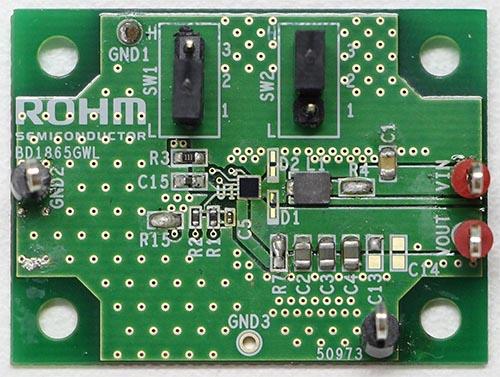 BD1865GWL Evaluation Board