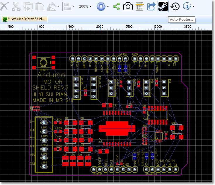EasyEDA PCB Editor