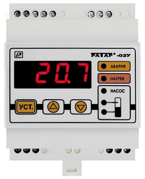 Компания Рэлсиб представляет терморегулятор Ратар-02У со встроенным реле контроля уровня