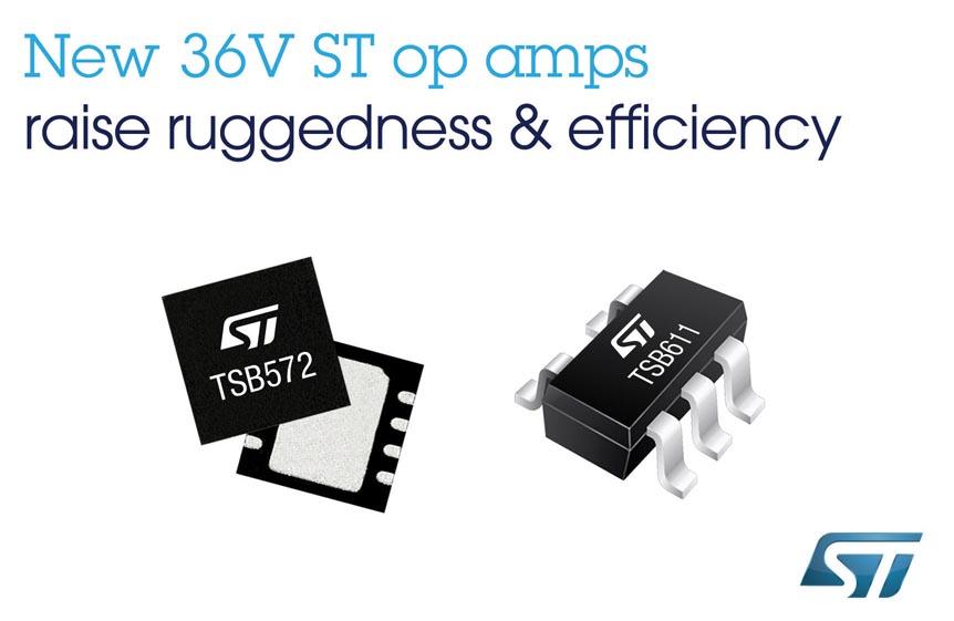 STMicroelectronics - TSB572, TSB611