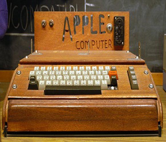 Apple Computer is formed, April 1, 1976