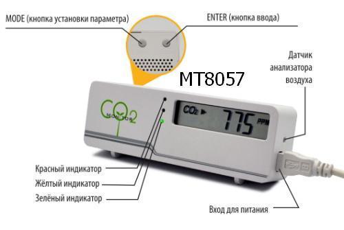 Управляем вентиляцией с помощью детектора углекислого газа MT8057