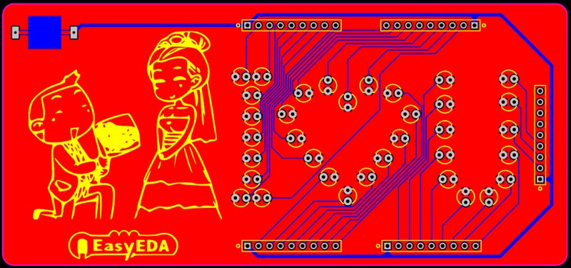 EasyEDA lets you design PCB and buy PCBs directly