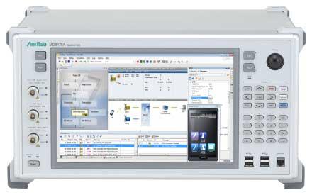 Тестер протоколов сигнализации Anritsu MD8475A поддерживает 98% сценариев тестирования на соответствие требованиям системы eCall