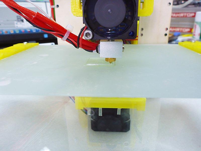 Доработка 3D-принтера MC7 Prime mini от Мастер Кит