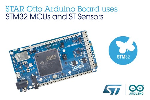 STMicroelectronics Arduino Launch Cooperation Expand Maker-Community