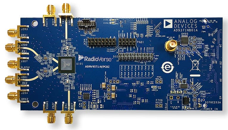 The ADRV9371-N/PCBZ radio card