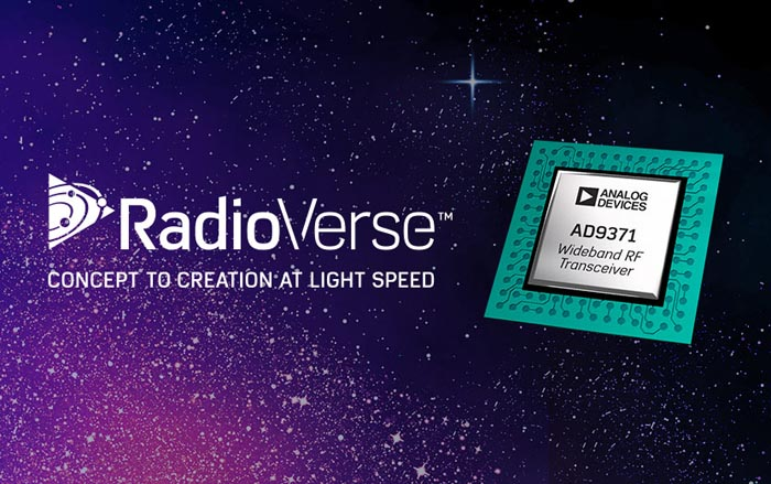 Analog Devices Simplifies Wireless System Design with RadioVerse Technology and Design Ecosystem