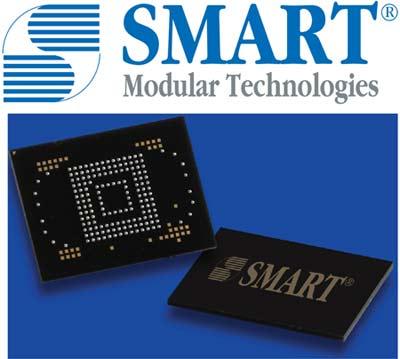 eMMC от компании SMART Modular Technologies