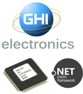 Микросхема G80 с поддержкой .NET Micro Framework от GHI Electronics