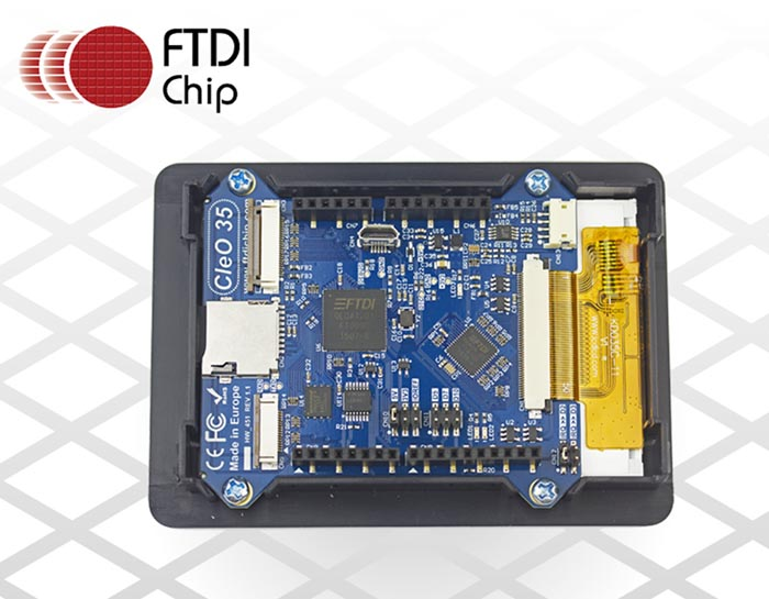 FTDI Pioneering Arduino-Compatible Touch-Enabled Display Shield