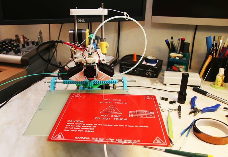 Делаем горячий стол для 3D принтера MC2